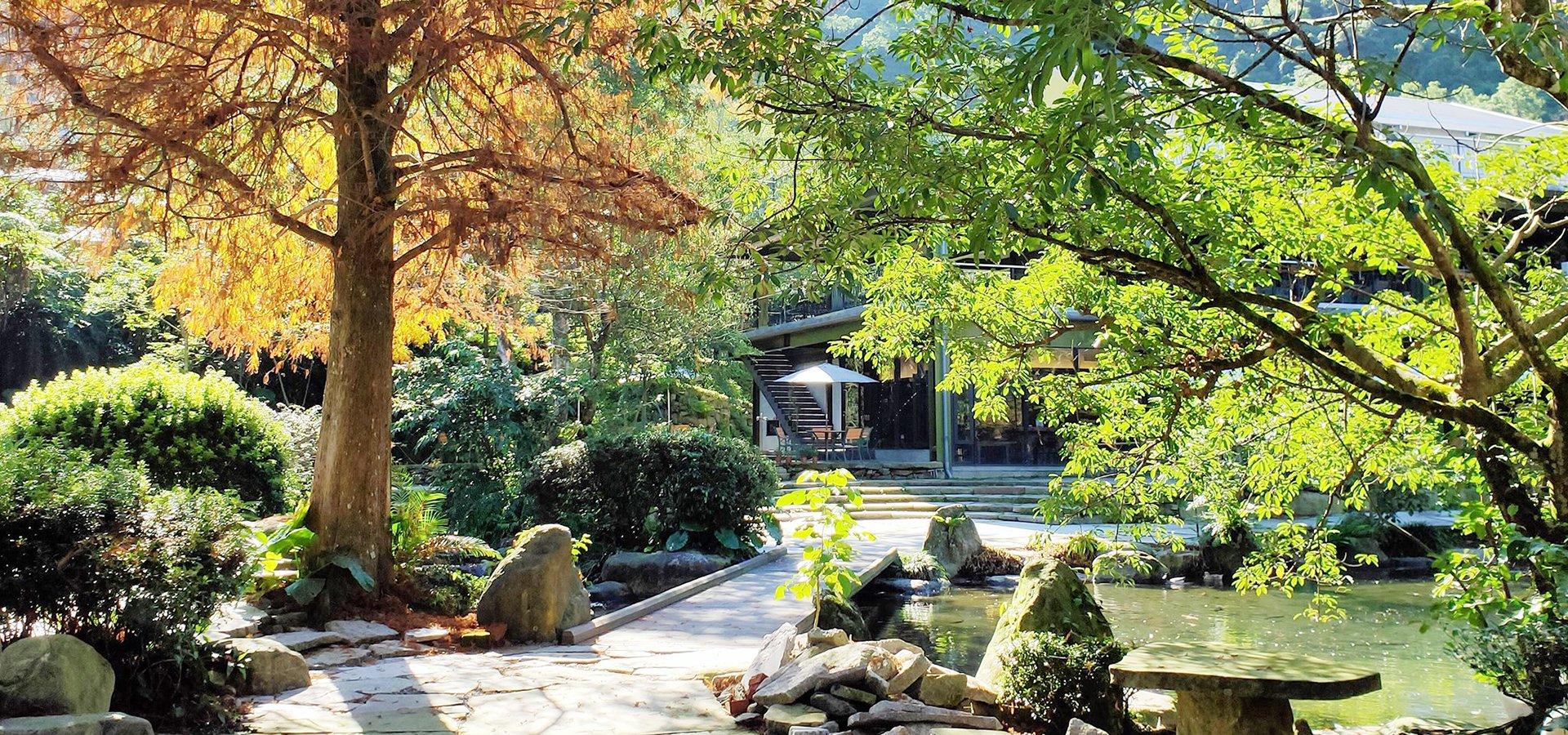 紫森林旅宿庭園景觀
