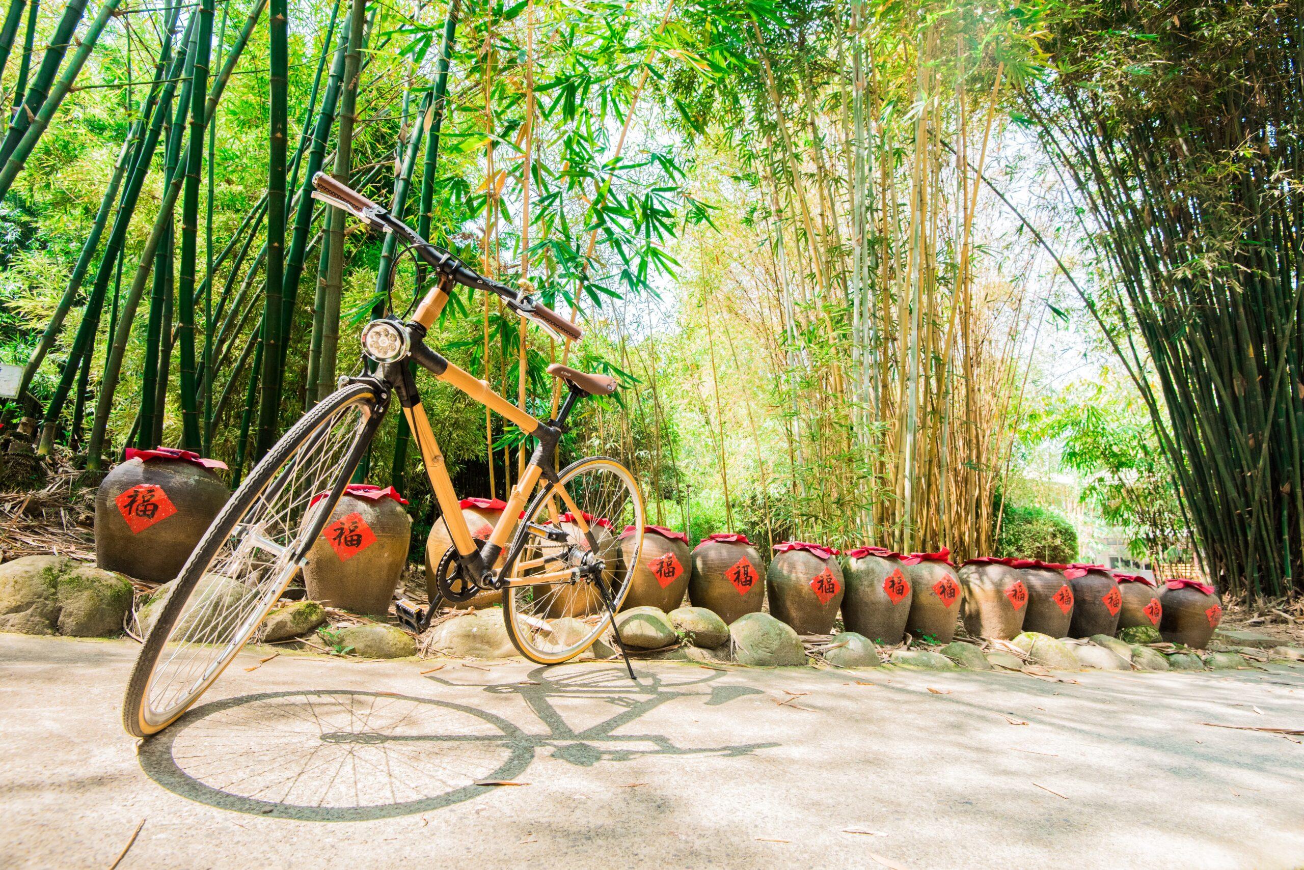 18竹自行車